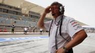 Keine Zeit mehr für Bananen: Für Ross Brawn wird es bei Mercedes ungemütlicher