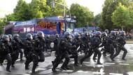 Hamburg zwischen Gewalt und Diplomatie