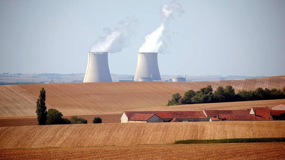 Das Atomkraftwerk in Nogent-sur-Seine