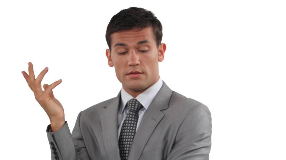 Es ist an der Zeit, den Ego-Lautsprecher mal ein paar Stufen leiser zu stellen.
