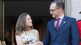 Kanada bemüht sich um Berlins Unterstützung