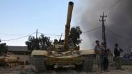 Irakische Armee vertreibt den IS aus Al-Kajara