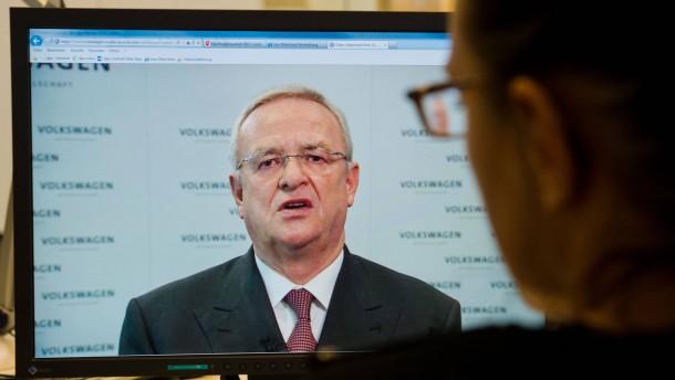 """""""Es tut mir unendlich leid"""" – VW-Chef will nicht zurücktreten"""