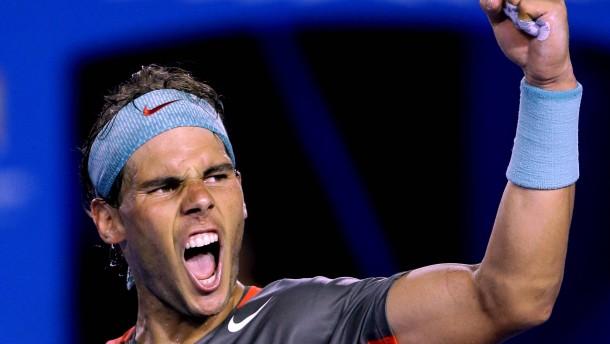 Nadal lässt Federer keine Chance