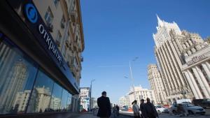 Die Russen misstrauen privaten Banken
