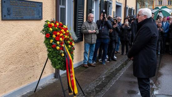 Steinmeier würdigt Hitler-Attentäter Georg Elser