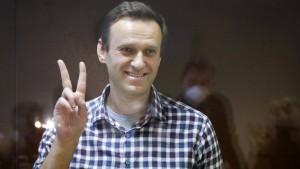 Nawalnyj erhält Sacharow-Preis