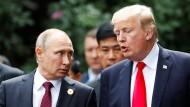 Trump und Putin wollen politische Lösung für Syrien