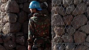Putin bietet russische Blauhelme für Golan an
