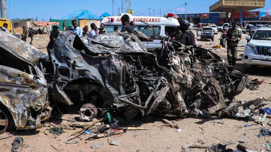 Al-Shabaab Miliz erklärt sich für Anschlag verantwortlich