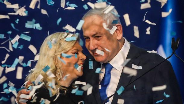 "Netanjahu bejubelt ""Riesensieg"""