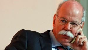 Staatsanwaltschaft ermittelt gegen Daimler-Chef Zetsche