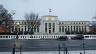 Die Notenbank der Vereinigten Staaten, die Federal Reserve, in Washington.