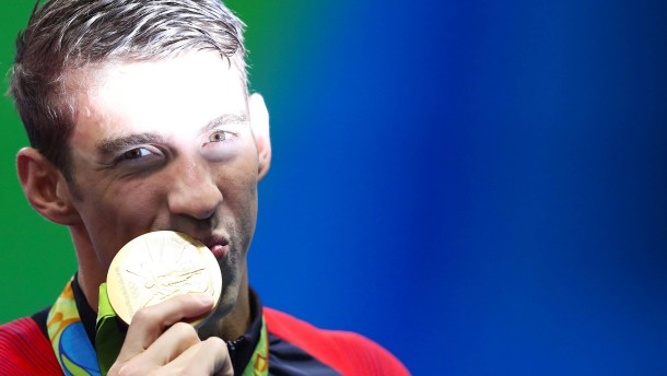 Phelps' Stern strahlt am hellsten