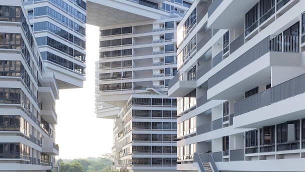 architektur in singapur von ole scheeren christoph ingenhoven und dreiseitl. Black Bedroom Furniture Sets. Home Design Ideas