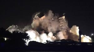 Restgebäude in Florida abgerissen