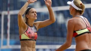 Aus für deutsche Beachvolleyballerinnen im Viertelfinale