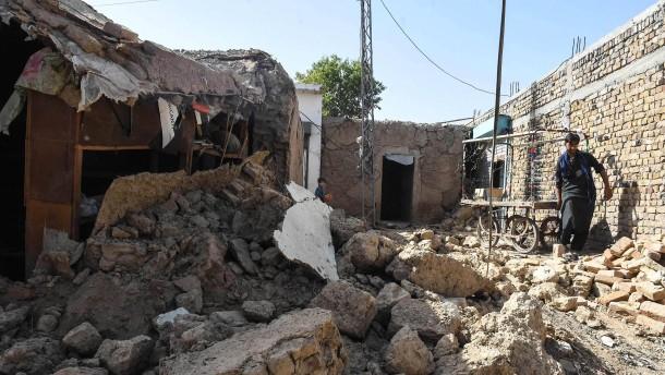 Schweres Beben der Stärke 5,9 in Pakistan