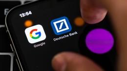 Deutsche Bank und Google wollen zusammenarbeiten