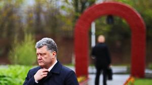 Poroschenkos eigene Firma macht mit