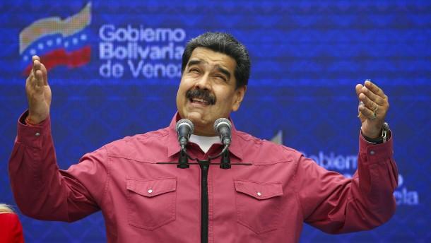 Maduros Partei gewinnt Parlamentswahl