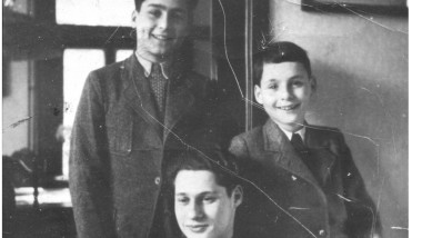 Letzte Erinnerung: Rosenstein (rechts) und seine Brüder im Jahr 1937.