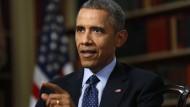 Obama fordert von Iran Zehnjahrespause