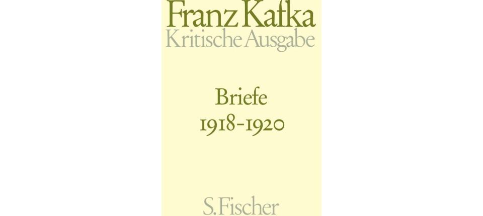 Franz Kafka Kritische Ausgabe Briefe 19181920 über Das Stürzen