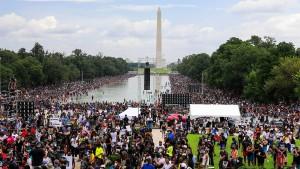 Ein neuer Marsch auf Washington