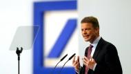 Kann vom 23. bis 25.10. neue Pläne machen: Deutsche-Bank-Chef Christian Sewing