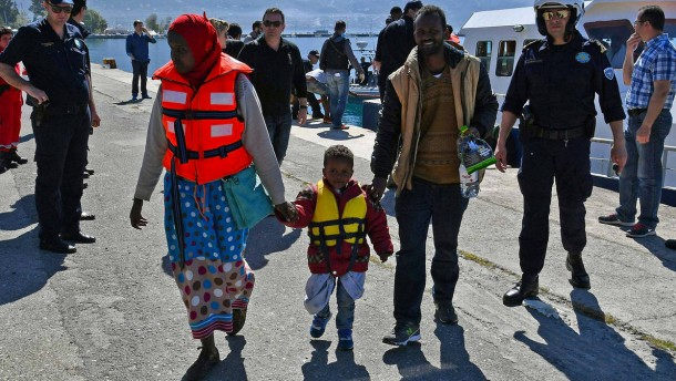 Refugee crisis in Kalamata