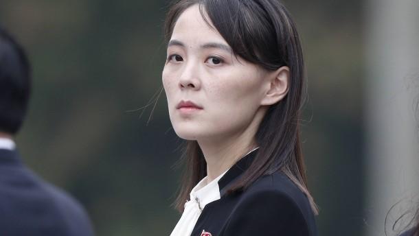 Kim Yo-jong droht den Vereinigten Staaten