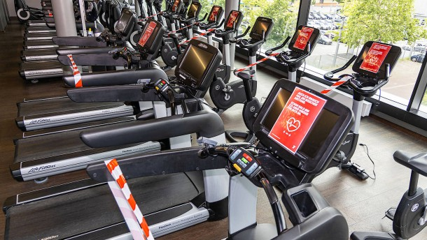 Auch hessische Fitnessstudios bleiben geschlossen