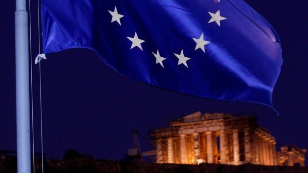 Euro-Gruppe verhandelt ueber Griechenland
