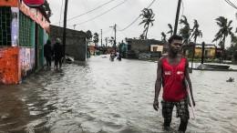 Wirbelsturm Eloise erreicht Moçambique