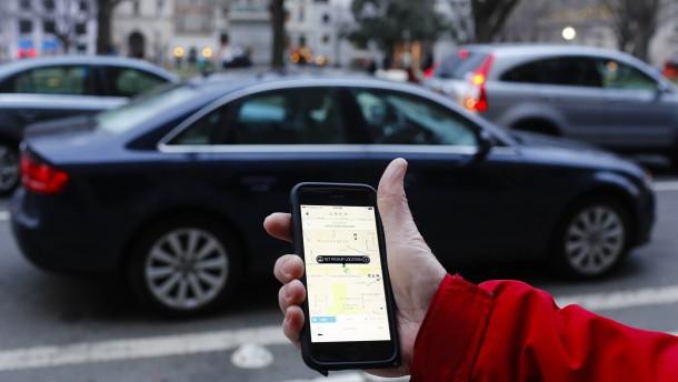 Uber will 50 Milliarden Dollar wert sein