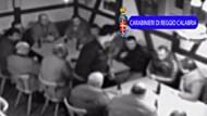 Polizei filmt geheimes Mafia-Treffen