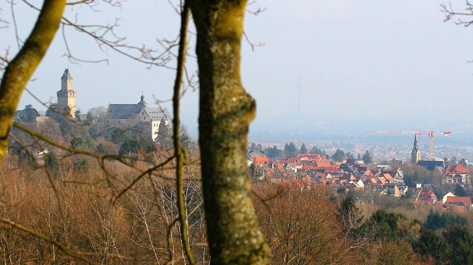 Teurer Wohnsitz: Kronberg im Taunus
