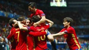 Spanien spielt wie in besten Zeiten
