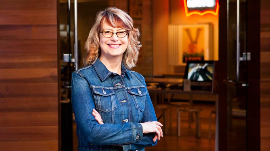 Herrin der Hosen: Lynn Downey am Levi's-Firmensitz