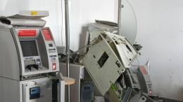 Fast täglich explodiert ein Geldautomat