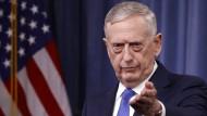 Der amerikanische Verteidigungsminister Jim Mattis will im Nordkorea-Konflikt auf Diplomatie setzen.