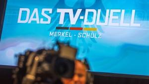 SPD vermeldet Schulz-Sieg im TV-Duell zu früh