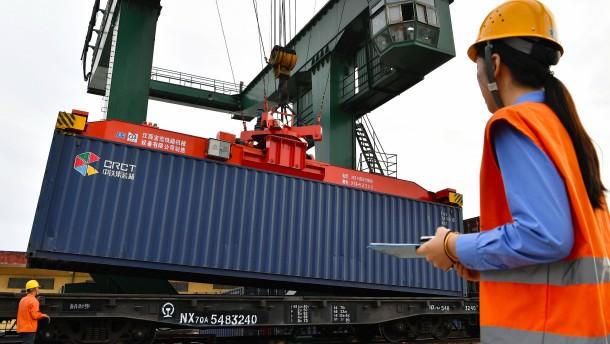 Die EU glaubt an den Markt, China an die Waffe