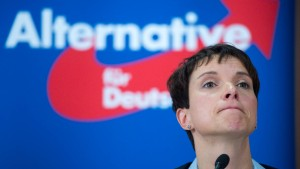 Petry streicht Aussage zu Waffeneinsatz aus Interview