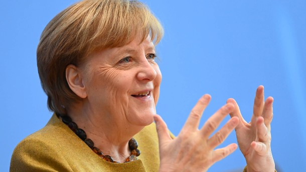 Angela Merkel im Livestream