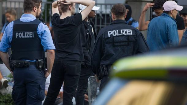 Bilanz einer Chaos-Nacht in Darmstadt