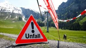 Ein Toter und sechs Verletzte bei Wartungsarbeiten an Berggondel