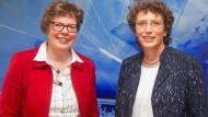 Kandidatinnen: Beate Hofmann (links) konnte sich gegen Annegret Puttkammer als neue Landesbischöfin durchsetzen.