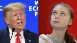 Trump und Thunberg auf Konfrontationskurs